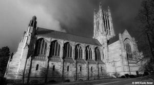 Scary Church panorama by NolanCF