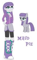 Equestria Girls - Maud Pie (Pinkie's Older Sister) by chaoticlatina