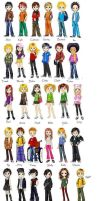 South Park Kids by Stansgirl512