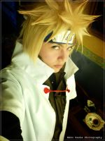 Minato-Hokage 4th by Qwaseer