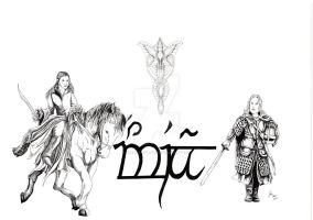Lord of the rings commission by TheFranology