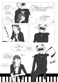 ML Comic: Puurrrove It! (MariChat) Page 1 by 19Gioia93