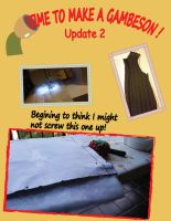 Time to make a gambeson! part 2 by timyvonstabs