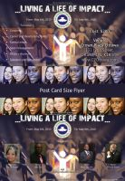 Living a Life of Impact flyer by ShilloCjbNet