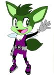 Sonic-afied Beast Boy by ColdHeartedCupid