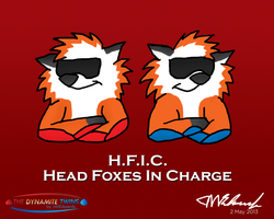 H.F.I.C. (Head Foxes In Charge) by JWthaMajestic