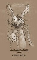 AMR March Hare - uncolored by LadyFiszi