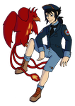 Com: Toby and Red by LadyLoriel