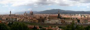 Florence Italy Panorama by limitlis