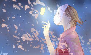 :.: Into the Forest of Fireflies' Light :.: by oishiipuddii