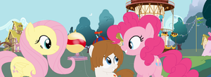 DOLL-Balloon Boy Meets Pinkie Pie And Fluttershy by Iheartmlp237