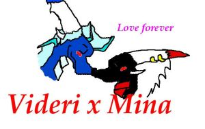 Videri x Mina Love forever by NewMoon-Dragoness