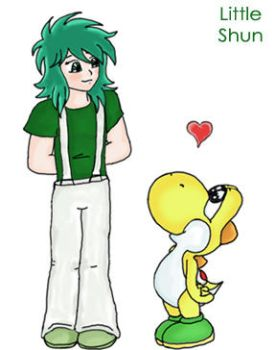 Little Shun and Yoshi by little-shun