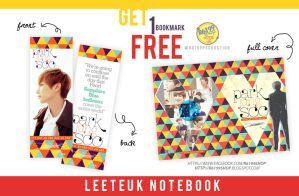 Leeteuk notebook by ROY6199