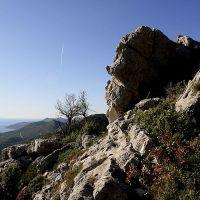 Mljet: :view from the top by Ilharess