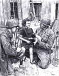 Colleville-Sur-Mer, June 1944 by AngusMcLeod