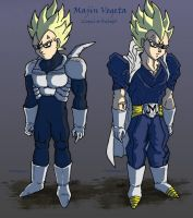 Majin Vegeta concepts by 0Some-weirdGuy0