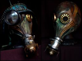 Custom Skinny BSFUC Gas Mask by bizklimkit