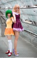 Be together - Sheryl + Ranka by Shizuku-Seijaku