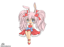 chibi bunny girl - transparent background by AkiDIDmorning