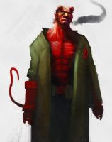 Quicky Hellboy by TeriyakiStyle
