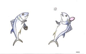 Recreational fun with tunas by inner-etch