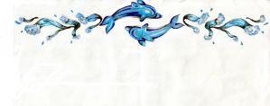 Dolphin Armband Design 3 by jag-uitartist
