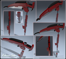 High Poly Gun Scythe by Shikuchi