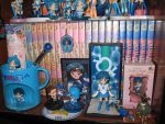 My Sailor Mercury's collection (part 2) by IlariaSometimes