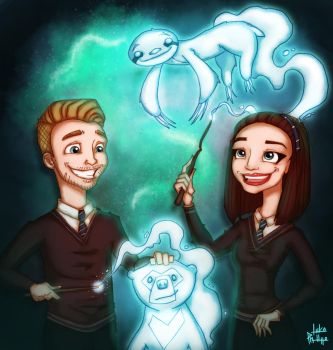 Expecto Patronum by Phillippeaux