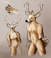 Still Unnamed Race Concept. by Snowfall-The-Cat