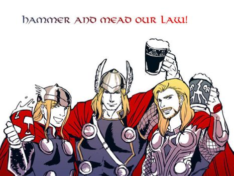 Hammer and Mead Our Law by mmmmmr