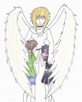 Our Guardian Angel by Heartless-Gone-Wild