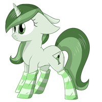 Cutesy Socks Olive by ShyShyOctavia