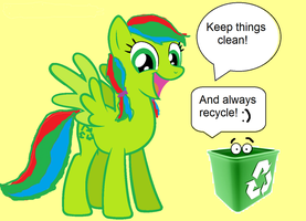Always Clean Up! by K0MPY