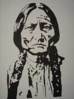 Sitting Bull by S-moon