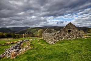Ruins at Dolmelynllyn by CharmingPhotography