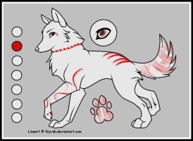 Wolf Adoptable for catchguess by TAyukii