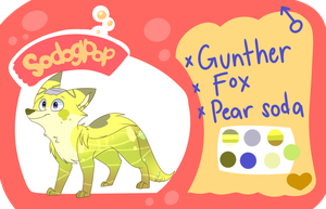Ref sheet: Gunther by JetjetJ