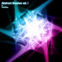 Abstract brush pack vol. 1 by forty-winks