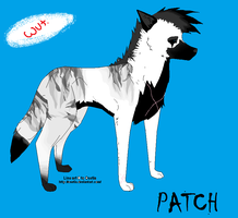 Patch Wolf by XxPatchTheFallenxX