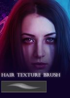 Hair texture brush by Muse-of-Stock