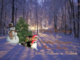 My Christmas card 2011 by Claudia008