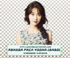 [Render pack]: Yoona by Jenny3110