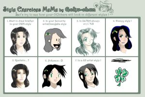 Style Exercise Meme - Rowena by whirlwynd