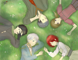 Akagami no Shirayukihime group picture by Shou-rei-on