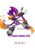 Espio - Burning Shuriken Jutsu by HellSpawnic