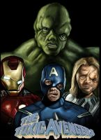 The Toxic Avengers by HeroforPain