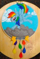Rainbow Dash Hoop by Nosseren