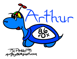 Arthur the Turtle by munjey86